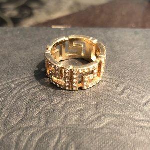Versace Pattern Ring